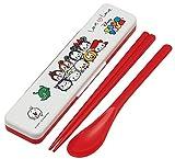 Skater Disney Tsum Tsum Chopsticks,Spoon,Case Combi Set CCS3SA from Japan