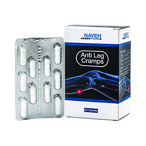 Anti Leg Cramps Magnesium Dead Sea Supplement for Muscle Pain Relief, Nocturnal Leg Cramps