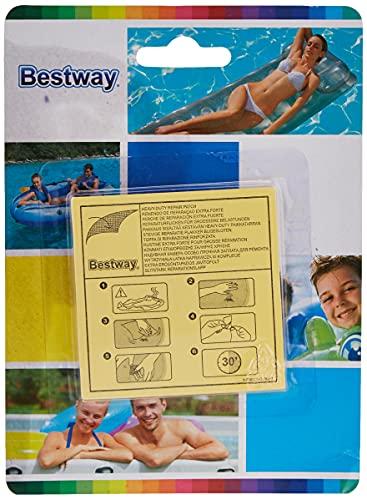 Bestway 62068 - Kit de Parches de Reparación Extra Fuertes 10 Unidades
