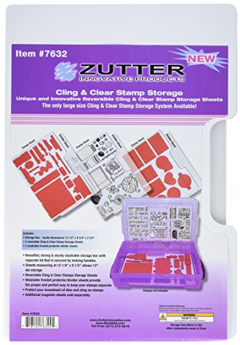 Zutter 7632 Cling and Stamp Storage