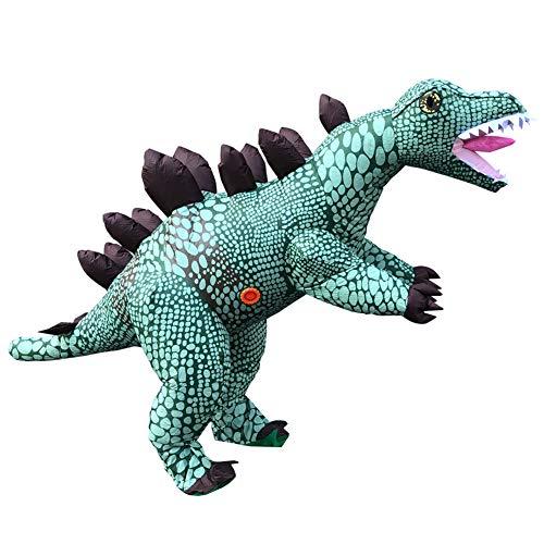 Delili Costume Gonfiabile, Costumi Divertenti per Uomo Stegosaurus Costume Gonfiabile, Costumi da Festa Cosplay Costumi da Festa