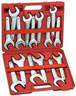 Pittsburgh 15 Piece SAE Service Wrench Set