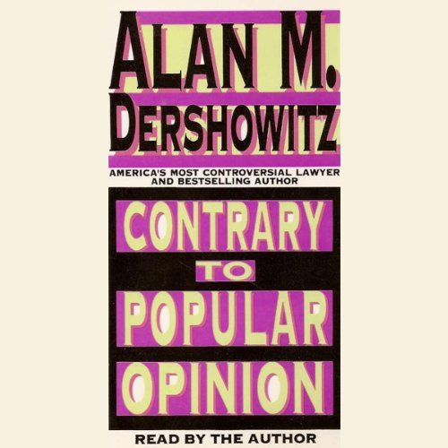Contrary to Popular Opinion audiobook cover art