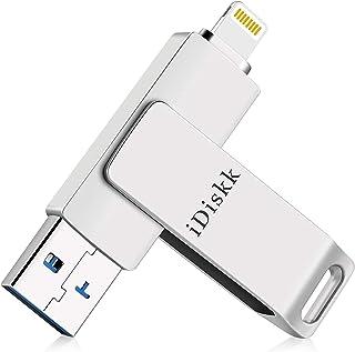 Apple mfi認証 iOS対応 iPhone USB 256GB iPad USBメモリ iDiskk Lightning人気のusb iphoneランキング iPad iPhone 用 ッシュドライブ コiPad Lightning ラン...