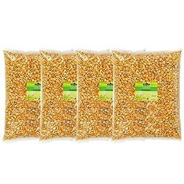 Dehner Corn Single Feed 4 x 2.5 kg Pack of 1 x 10 kg