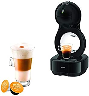 Krups YY3043FD Machine à Café Nescafé Dolce Gusto Lumio Capsules Cafetière Multi Boissons Chaudes Froides Expresso Lungo T...