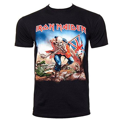 Iron Maiden Trooper Camiseta (negro)