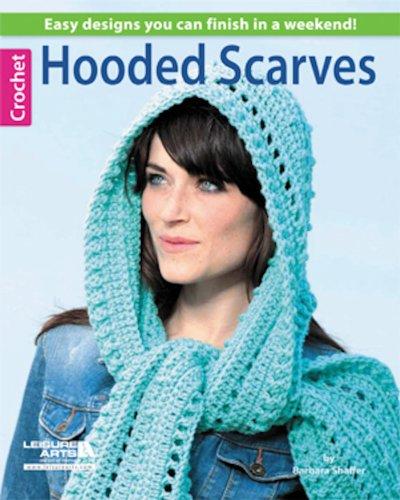 crochet hooded scarf - 6