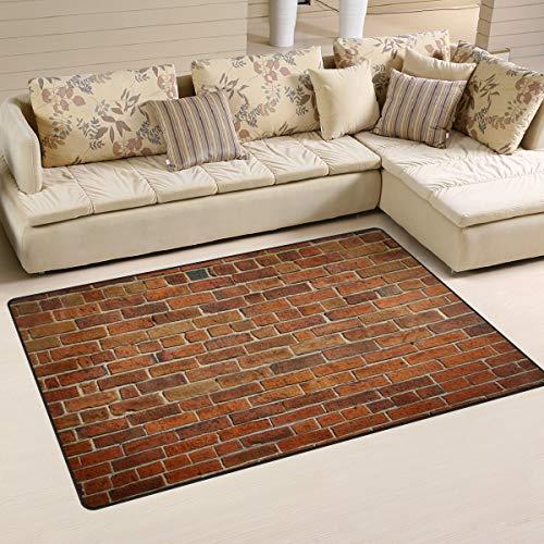 """XiangHeFu Teppiche zum Wohnen Esszimmer Schlafzimmer Fußmatten Dekorative Ziermauer 2\'7\""""x1\'8 (31x20 Zoll) Teppich rutschfeste Bodenmattenablage"""