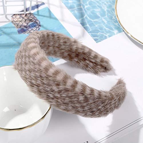 Turbantes Headband Diademas para Mujer Turbantes Diadema para La Cabeza, Accesorios para El Cabello De Invierno para Muj