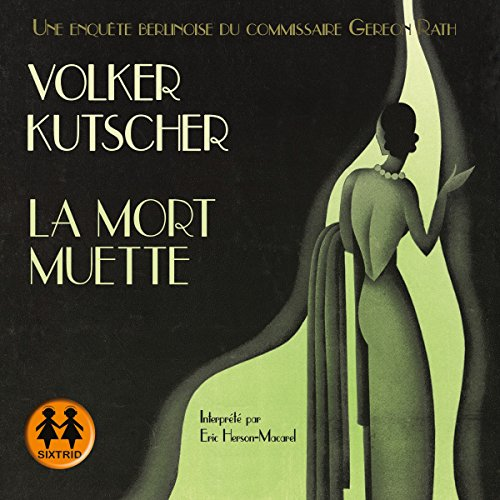La mort muette audiobook cover art