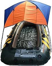 Tienda de campaña hinchable para barco, de goma, impermeable, canoa, para 4 personas