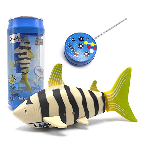 Escomdp Cute Mini RC Fish...