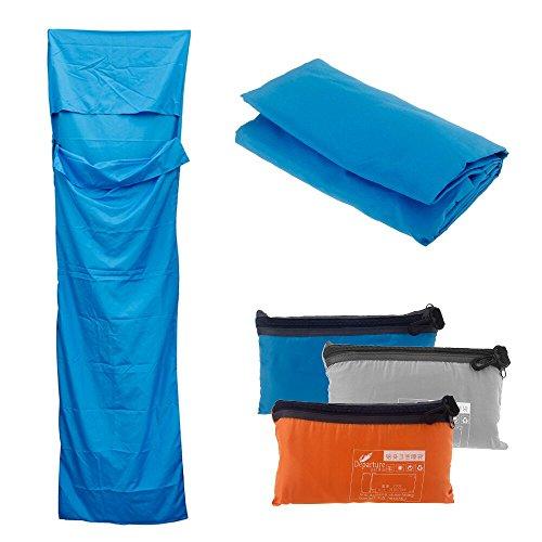Docooler Schlafsack Pongee Gesund Liner tragbare Camping Reise Schlafsack