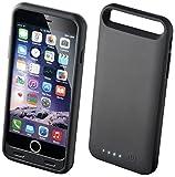 BoostBank ULTRA FIN Coque avec batterie rechargeable Noir - 2400 mAh pour iPhone 6 - Batterie externe Portable chargeur - Apple MFi certifié