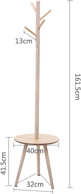 Qfgis Nordic Solid Wood Landing Hangers Simple Coat Racks Bedroom Clothes Shelves Storage Furniture (Size   A-161.5cm)