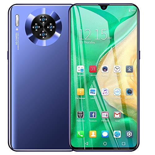 Moviles Libres 6GB RAM 128GB ROM/Memoria Extendida 128 GB, 6.3 Pulgadas 26MP Cámara Smartphone Libre Dual SIM 4G WiFi Buenos Smartphone M30pro Batería 4800mAh