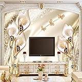 Tapeten Wandbilder,Im Europäischen Stil Relief Champagner