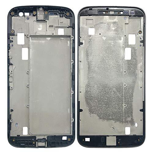Teléfonos Móviles piezas de repuesto Placa LCD de la cubierta del marco de reparación de piezas de reemplazo frontal de la carcasa LCD marco del bisel for Motorola Moto G4 Plus (gris) ( Color : Grey )