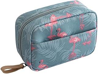 حقيبة المكياج الصغيرة LEDMOMO ، حقيبة سفر أدوات الزينة حقيبة أدوات التجميل منظم أدوات التجميل إكسسوارات السفر للماء للنساء...