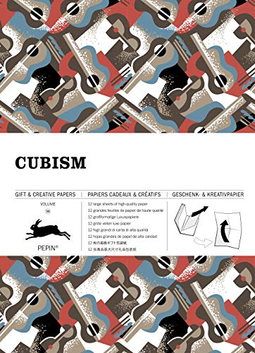 Cubism: Gift & Creative Paper Book Vol. 98 (Gift & creative papers (98))
