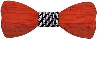 Tuxedo Wooden Bow Tie Men Handmade Wood Bowtie Wedding Accessories