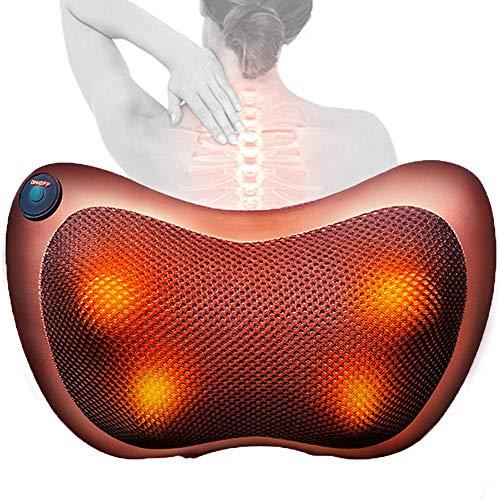 HGJDKSJ Manta electrica Lumbar, masejador cervicales, Masajeador eléctrico de Hombros para Cuello,...