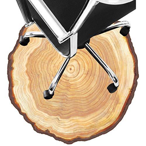Alfombra Silla Ruedas, Tela No Tejida De Plástico Point, Alfombrilla Redonda para Suelo De Escritorio para Alfombra, Alfombrilla para Silla Rodante para Alfombr(Size:80cm/31in)