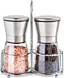 Premium Stainless Steel Salt and Pepper Grinder...