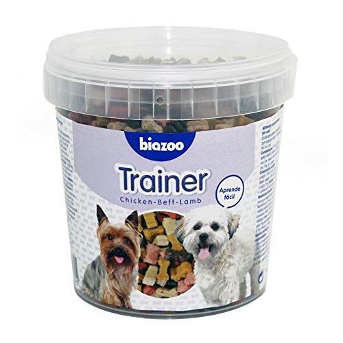 Biozoo Trainer, Snack Educativo de Pollo, Buey y Cordero para Perros - 600...