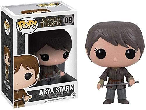 Juego de Tronos Figura Pop: Arya Stark Adornos en Caja Figura de Vinilo Coleccionable 10CM