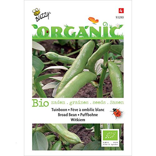 Buzzy® Organic Puffbohne Witkiem (Vicia faba)