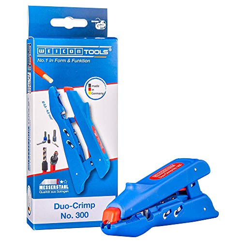 WEICON TOOLS Duo-Crimp No. 300   Multifunktions-Abisolierer mit...