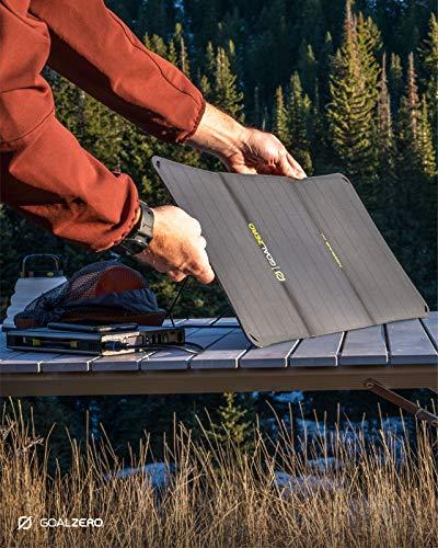 Goal Zero Nomad 20, Foldable Monocrystalline 20 Watt Solar Panel with 8mm + USB Port, Portable Solar...
