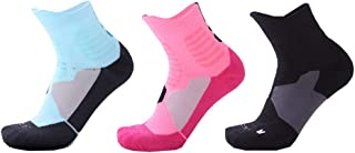 Atutua Men's Cotton Sports Athletic Socks Elite Versatility Thick Protective Basketball Socks
