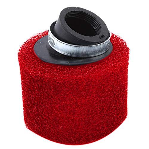 Underleaf 35mm Schräg Mund Schwamm Luftfilter Für Dirt Pit Bike Motocross Motorrad Vergaser (Color2)