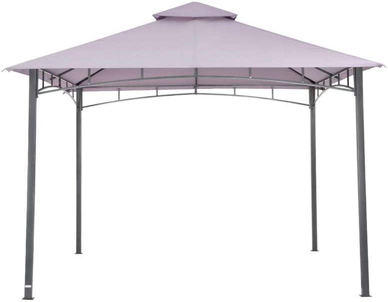 Tepro Pavillon Lavendel WAYA 330x330x290 cm Garten Camping Terrasse 5528