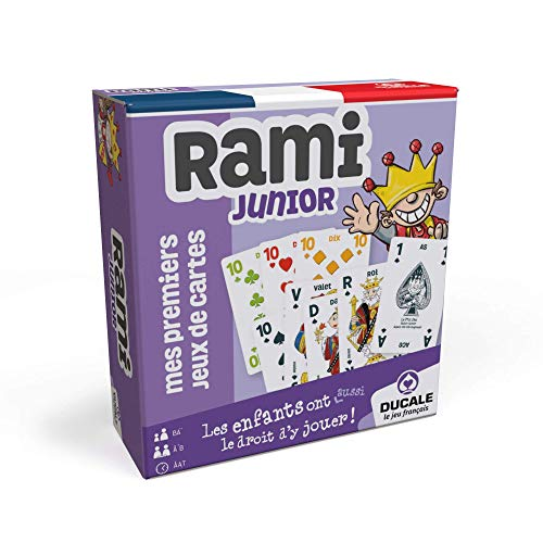 Ducale, le jeu français Rami Junior-Jeu de cartes Enfant, 41