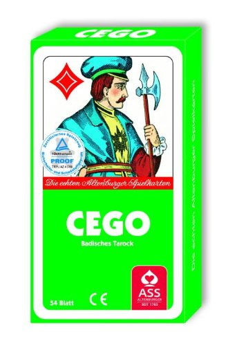 Kartenspiel Cego Badisches Tarock in Faltschachtel