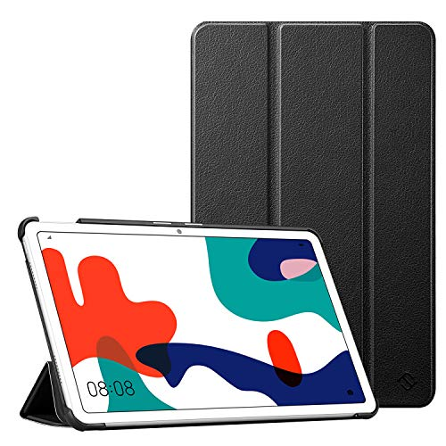 Fintie Hülle Case für Huawei MatePad 10.4 / Honor V6 - Ultra Dünn Superleicht Flip Schutzhülle für 10.4 Zoll Huawei MatePad (BAH3-AL00/BAH3-W09) / Honor V6 (KRJ-W09) 2020 Release Tablet PC, Schwarz