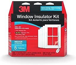 3M Indoor Window Insulator Kit Insulates 5 - 3'x8' Windows