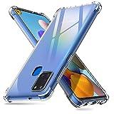 deconext Transparent Silikon Galaxy A21S Hülle, Ultra Dünn Schlank Handyhülle Stoßfest Anti-Fingerabdruck TPU Bumper Cover Schale Schutzhülle für Samsung Galaxy A21S(2020) 6,5 Klar
