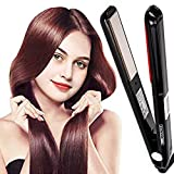 Hair Care Ultrasonic Infrared Hair Straightener...