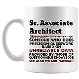 N\A Regalo Divertido de la Taza del Arquitecto asociado Sr. - Taza de café de 11 onzas - Los Mejores Regalos para Las Tazas de Las Tazas de la Camiseta de Las Mujeres de los Hombres