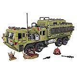BGOOD Technic Char Militaire Tank, 1377 Pièces Camion Lourd Scorpio WW2 Maquette Char Jeu de Construction pour Enfants et Adultes, Compatible avec Lego