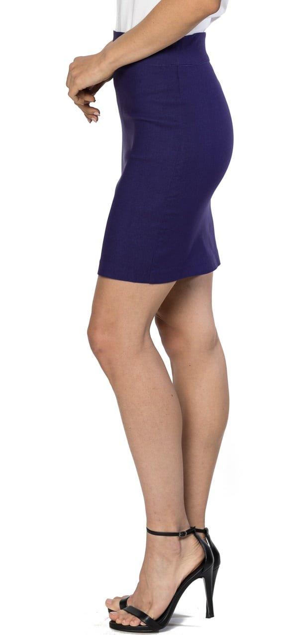 Unique HOT Kosinski superior original pencil skirt above the knee purple