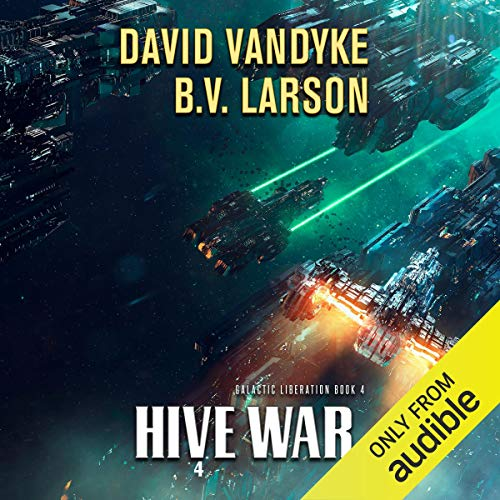 Hive War audiobook cover art