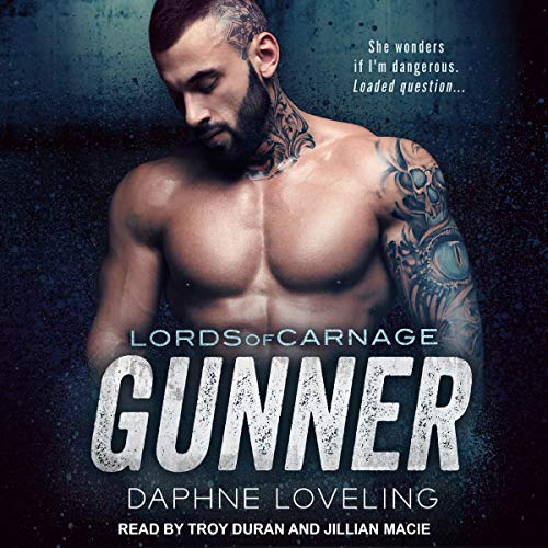 Gunner audiobook cover art