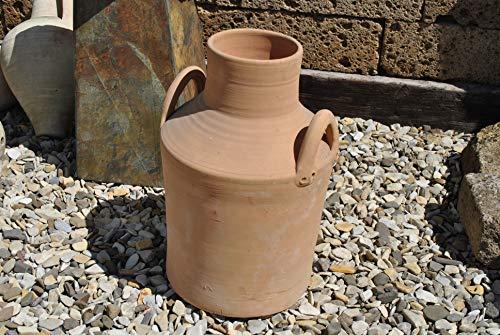 Keramik&Design hübsche Kanne,Krug aus Terracotta,Handarbeit aus Spanien,50cm hoch