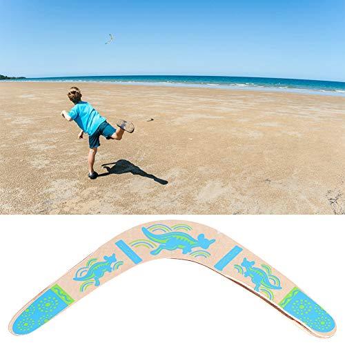 Keen so V-förmiger Bumerang, weiches wasserdichtes neues hölzernes zurückkehrendes Bumerang V-förmiges Bumerang-Outdoor-Spiel-Sportspielzeug